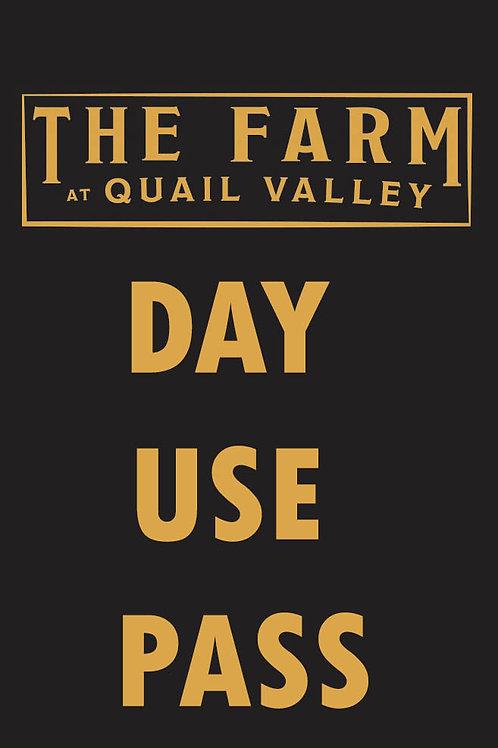 Single day use pass
