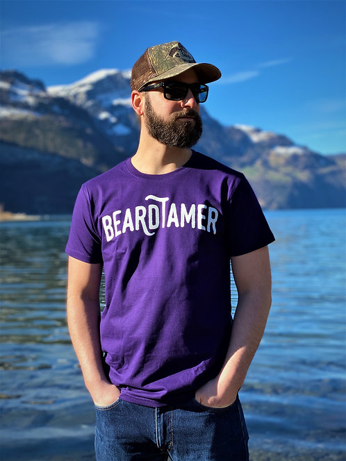 Beardtamer Classic T-Shirt - Purple