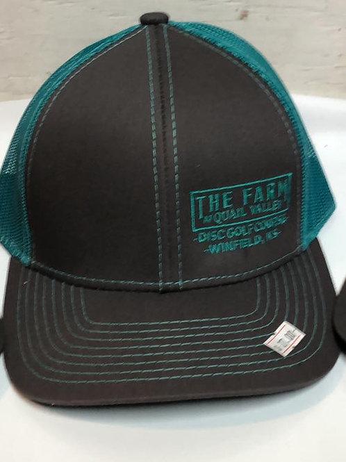 Snap Green mesh hat