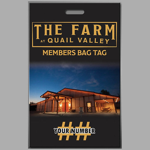 Single Player Membership with bag tag (1)