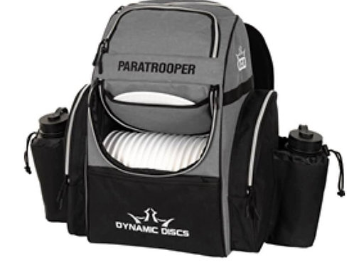DD Paratrooper Backpack Heather Grey