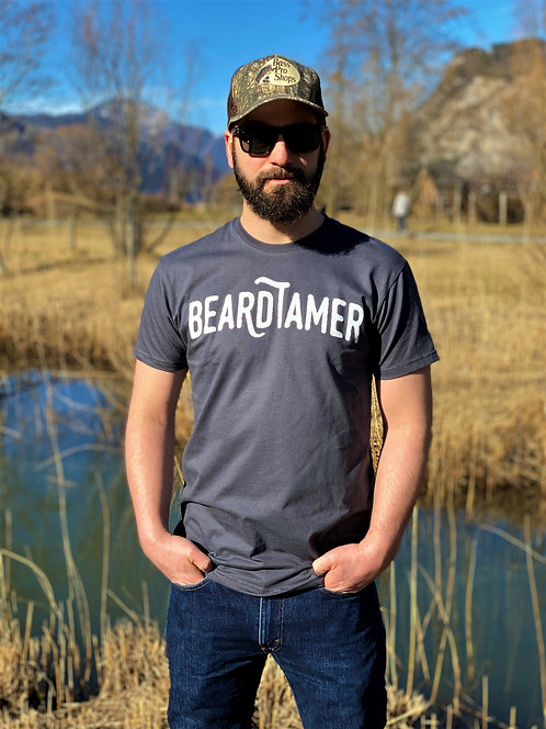 Beardtamer Classic T-Shirt - Dark Grey