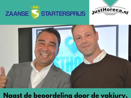 JustHoreca genomineerd voor de Zaanse Startersprijs 2018!