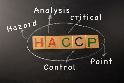 HACCP - Hazard Analysis Critical Control