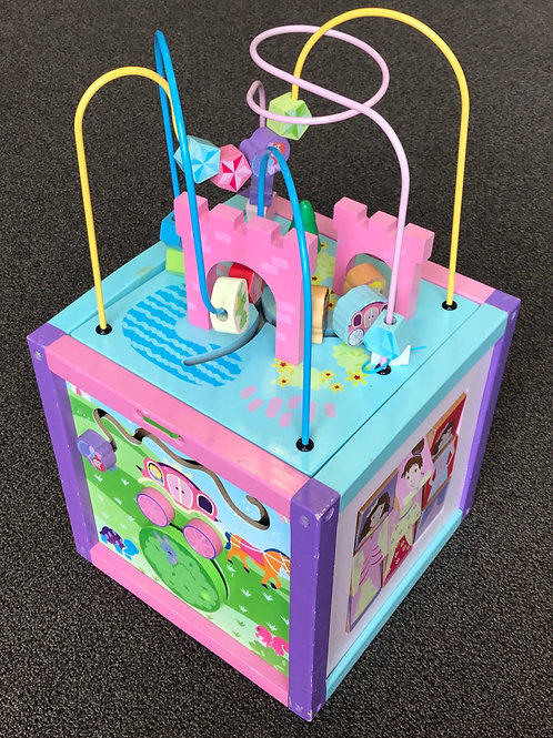 Princess Activity Cube
