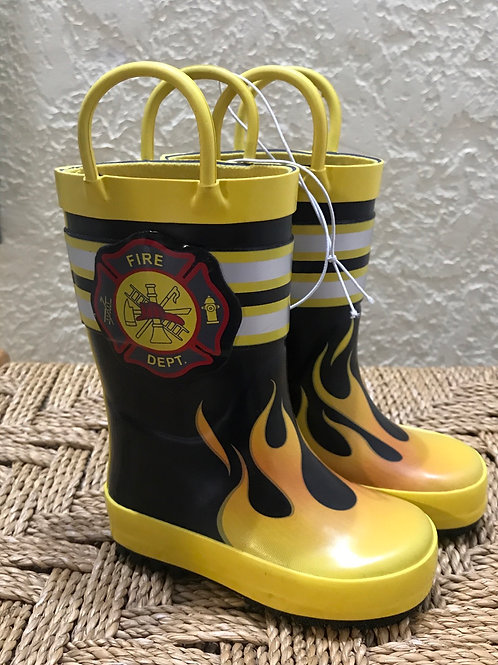 Size 5 NEW Fire Fighter rain boots