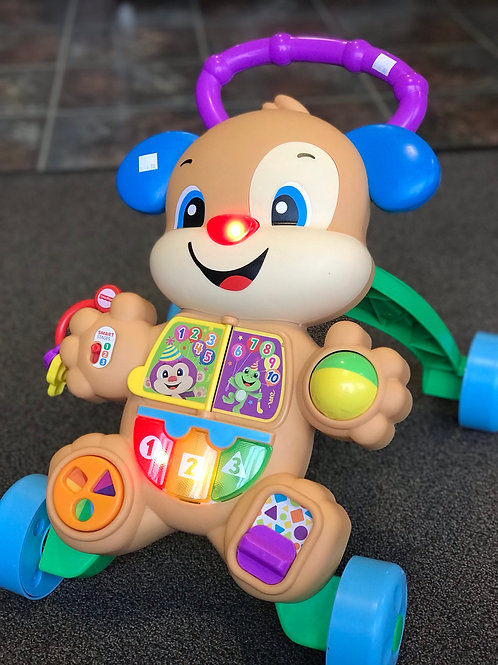 Fisher price is smart stages puppy activity walker
