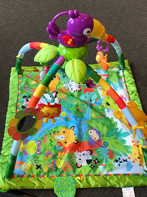 Fisher Price rainforest activity mat