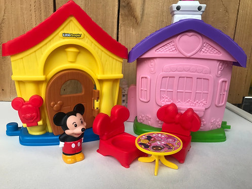 Fisher Price little people Mickey house