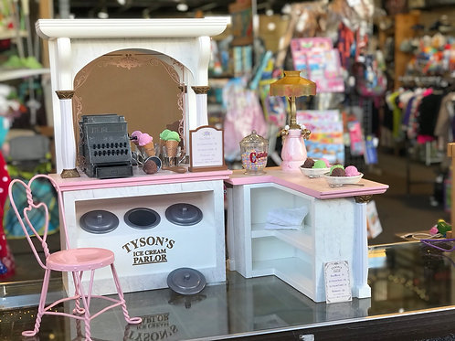 American Girl (Samantha) Tyson's Ice Cream Parlor **RETIRED**