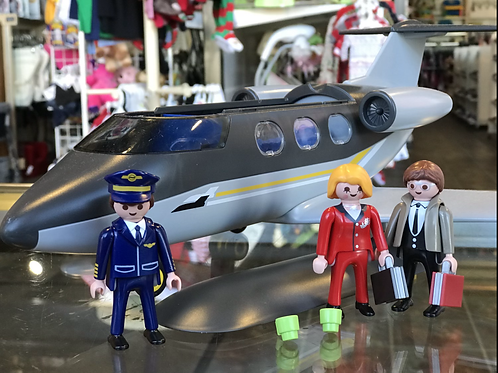 Playmobil Jet with passengers