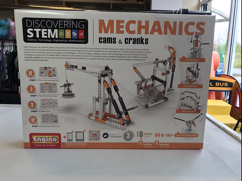 NEw Mechanics Cams & Cranks