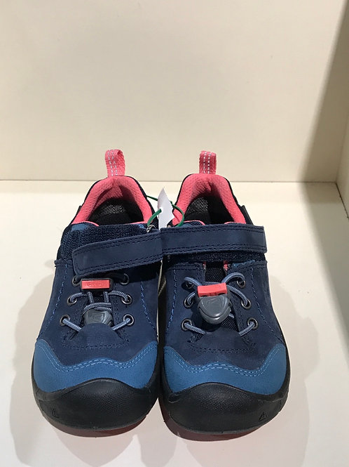 Size 9 blue and pink Keen hikers