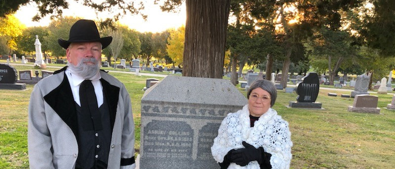 LOUISA AND ASBURY COLLINS - FROM BEYOND THE GRAVE RE-ENACTMENT