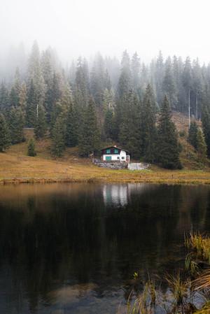 Hütte am See  Graubünden
