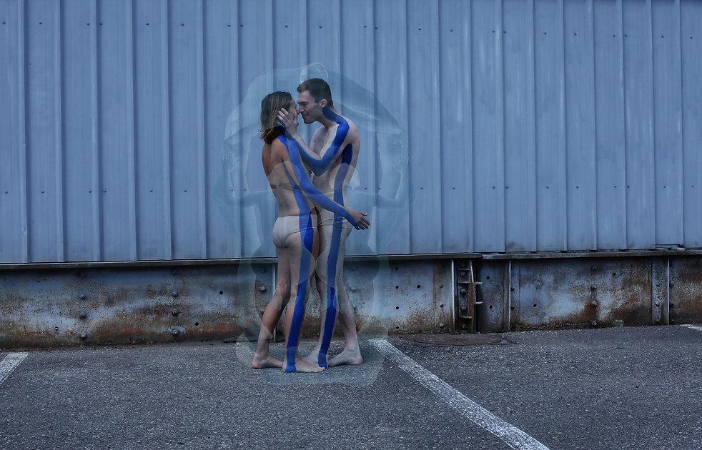 Photographie|Yantra Un fragment de totalité Amour/Amour| Exposition| andata.ritorno 2016|Genève Suisse|Isabelle Derigo Abraham Brody| artiste de performance contemporaine