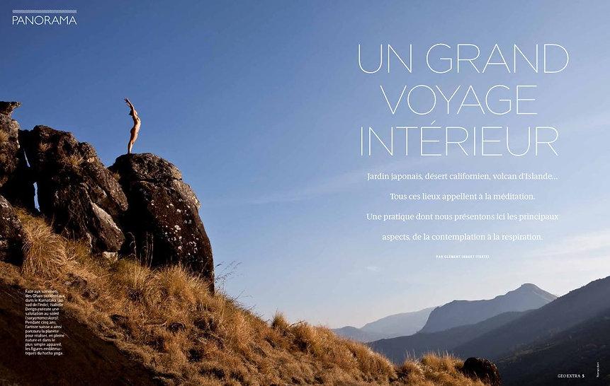 Isabelle Derigo perfomance artist Press Geo France
