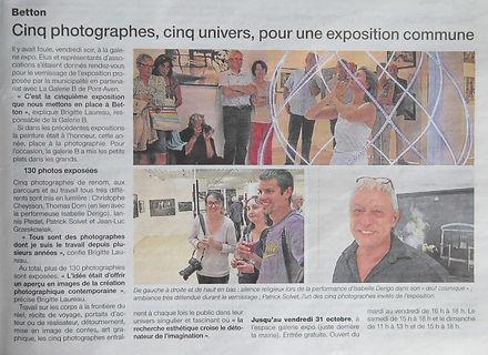 Isabelle Derigo perfomance artist The Yoke Press Betton Rennes France
