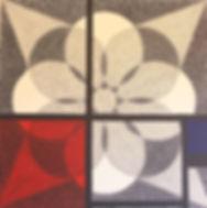 Peinture|Exposition|Un Chaos organisé Mondrian et la Fleure de vie|Galerie La Mansarde 2012|Veyrier suisse|Isabelle Derigo|artiste de performance contemporaine
