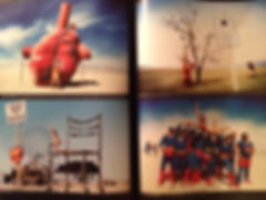 Isabelle Derigo perfomance artist Press Portfolio Lettre de la photographie