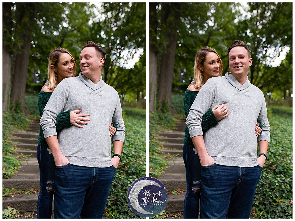 engagement session cleveland