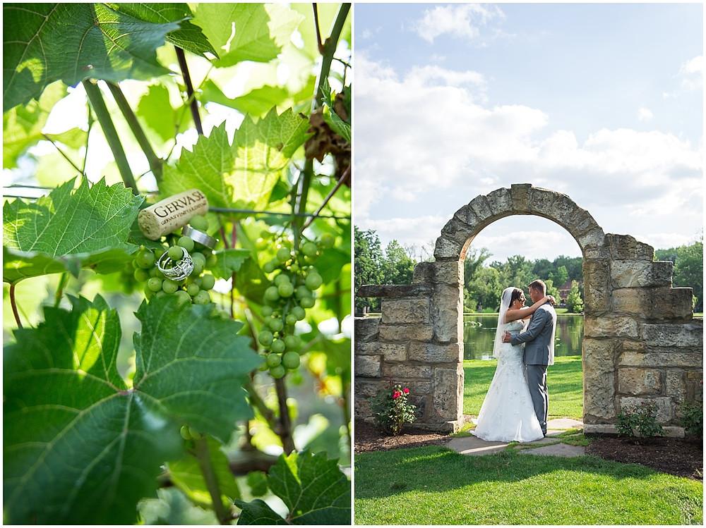 gervasi vineyard, wedding ring shot, wedding ring on wine cork
