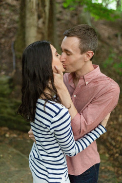 cleveland engagement session
