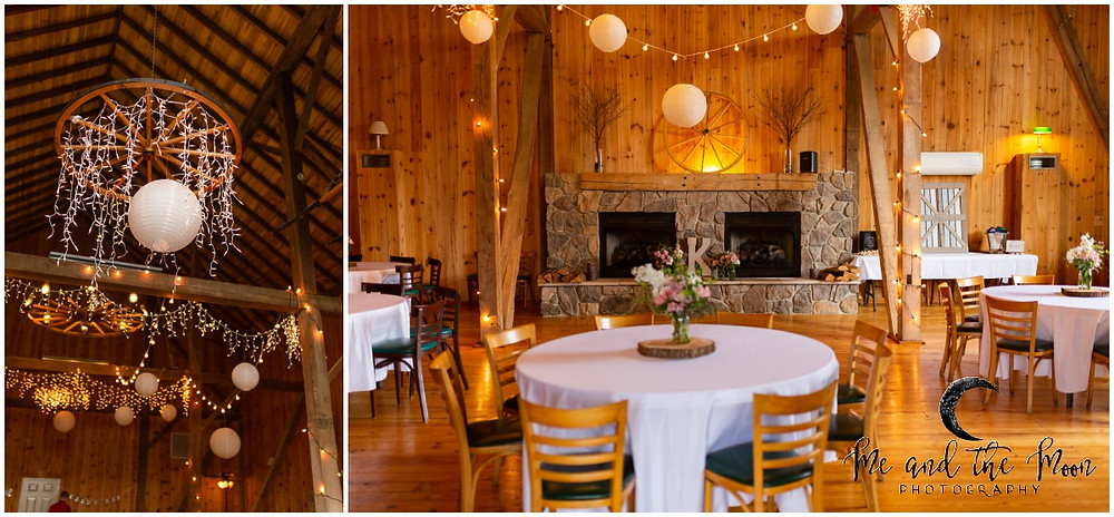 reception at jilbert winery
