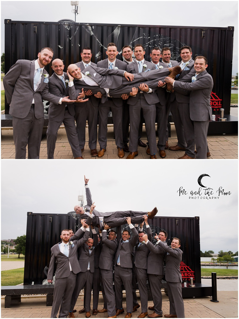 groomsmen rock and roll hall of fame cleveland