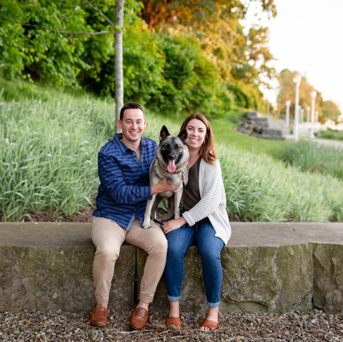 Natalie & Mike's Engagement Session at Edgewater Park & Gordon Square