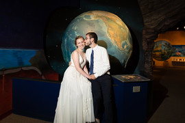 weddings at the natural history museum in cleveland