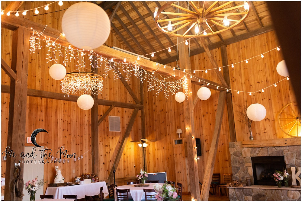 wedding reception at jilbert winery