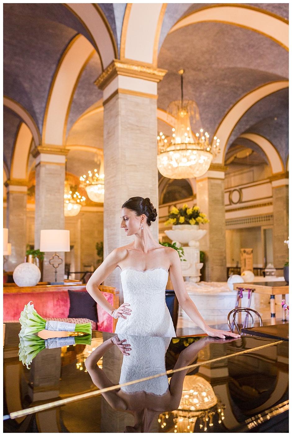 wedding at renaissance hotel cleveland