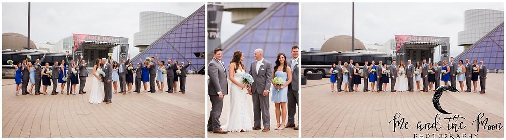 cleveland bridal party photos