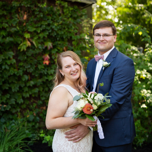 An Intimate Backyard Wedding in Rocky River Ohio