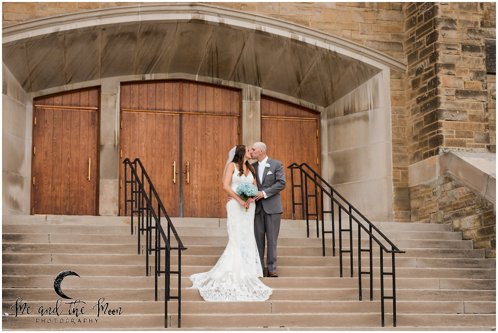 bride and groom portraits cleveland
