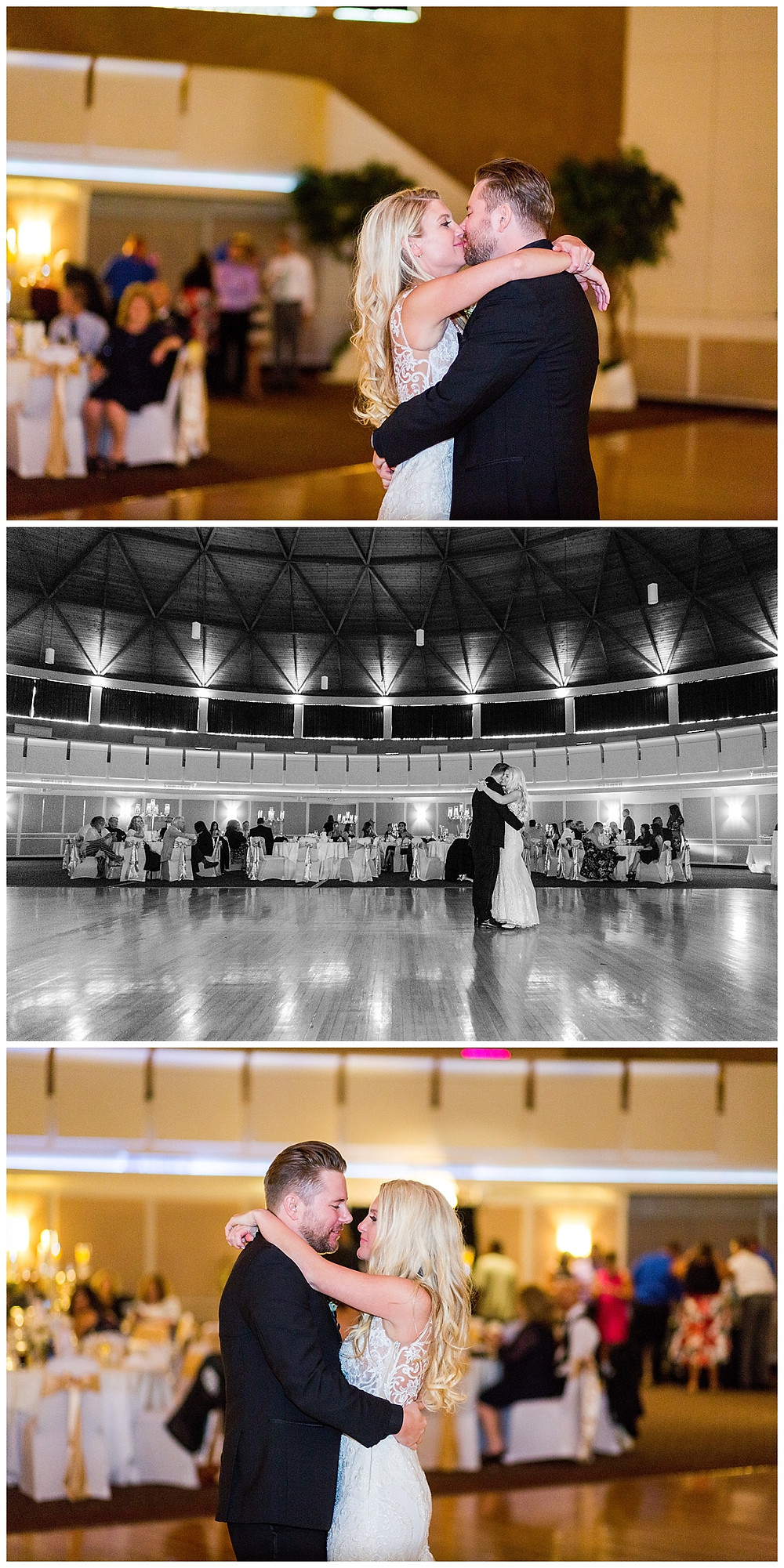 first dance parma astrodome wedding