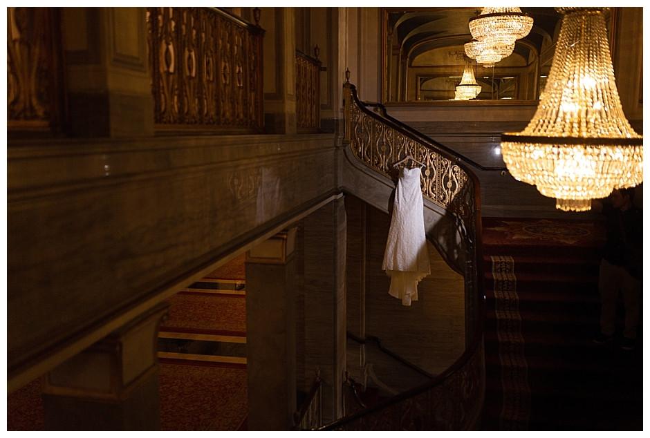 wedding gown renaissance hotel cleveland