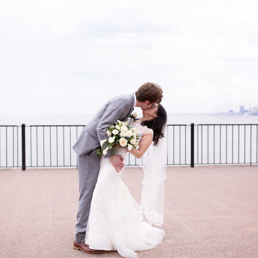 Pier W Wedding Cleveland Ohio