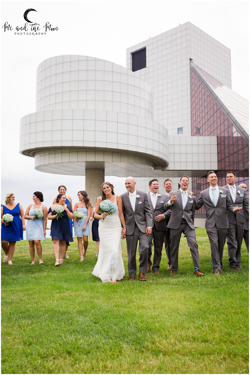 candid bridal party photos cleveland