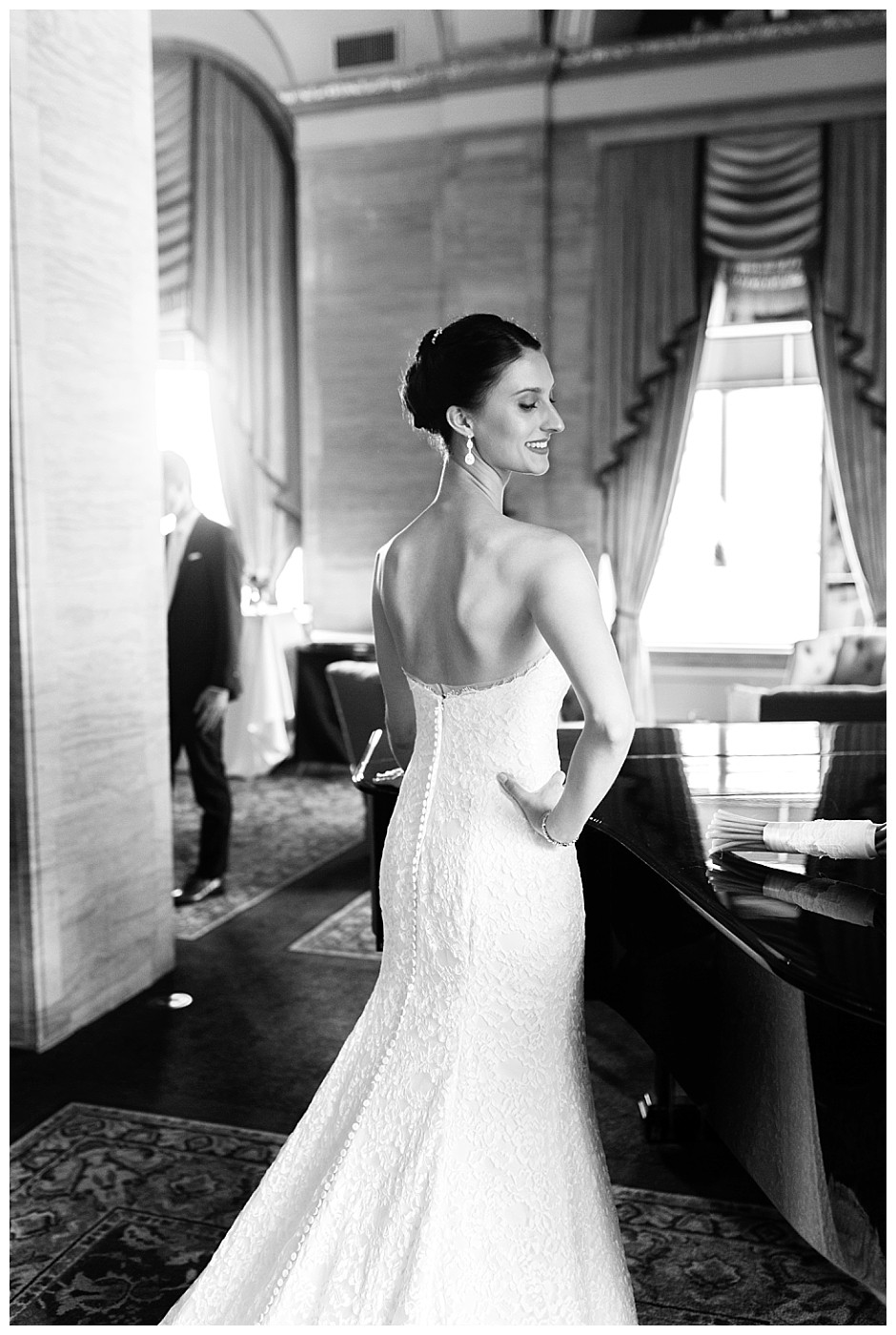 bride at renaissance hotel cleveland