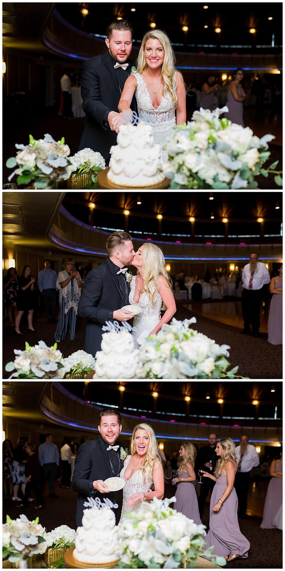 bride and groom parma astrodome