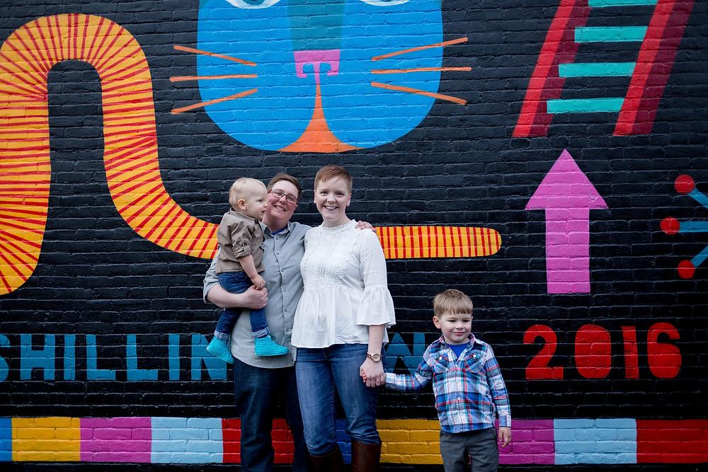 family portraits in ohio city