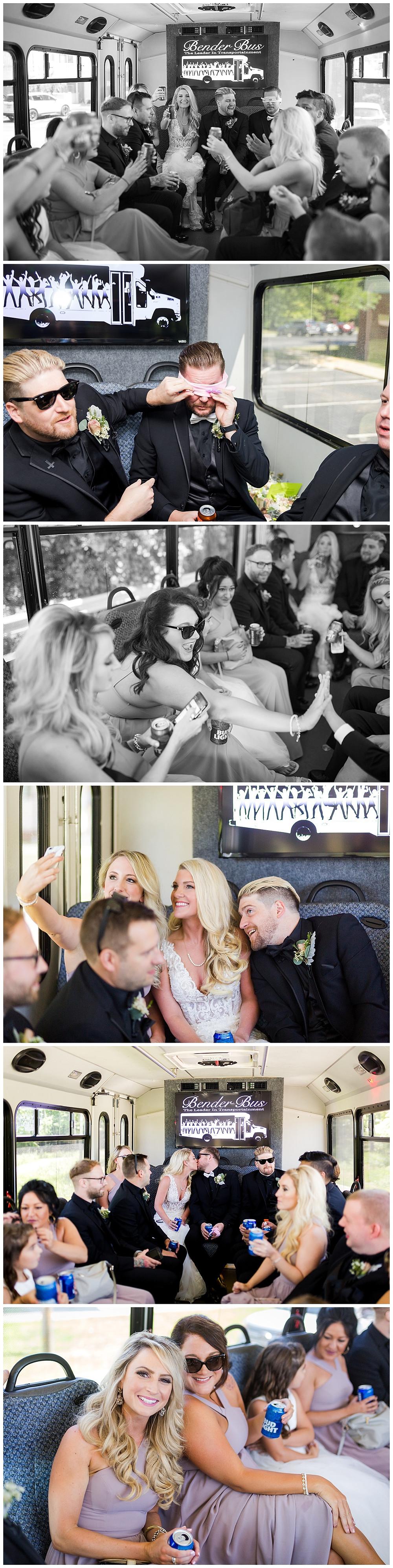 party bus wedding cleveland ohio
