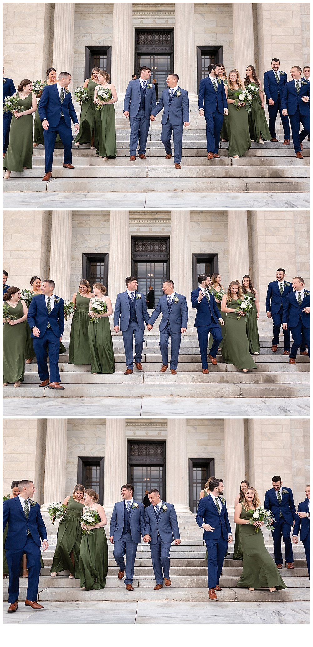 bridal party candid photos