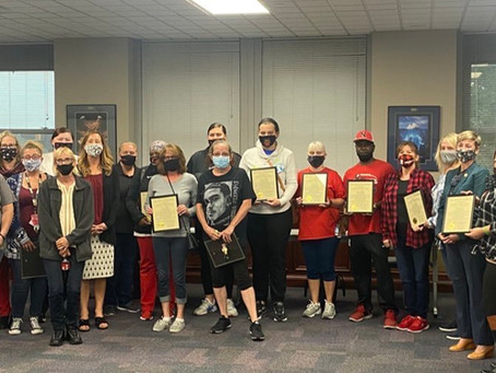 Newport Food Service workers formally honored by Kentucky House of Representatives
