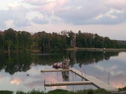 Canoe, kayak and SUP on the lake