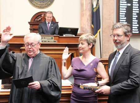 WTVQ RACHEL ROBERTS SWORN INTO KENTUCKY HOUSE AFTER SPECIAL ELECTION