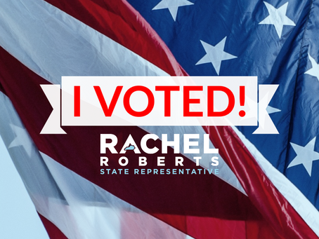Representative Rachel Roberts Wins Reelection