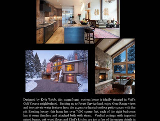Vail Open House Wednesday 1/17/18